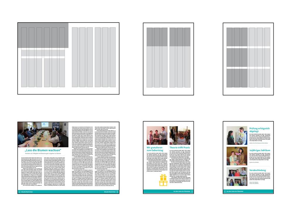 Blickwinkel – Magazinraster