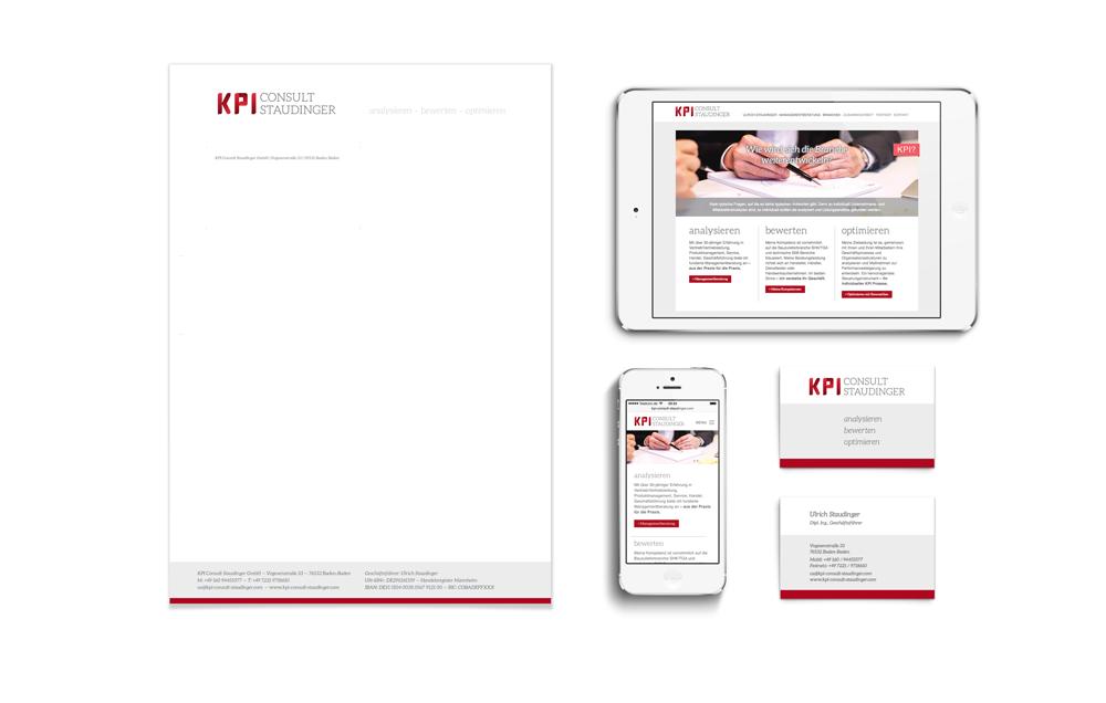 KPI Consult Staudinger – Corporate Design