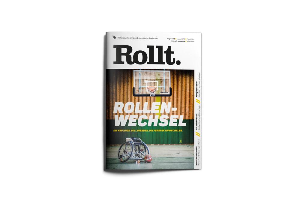Rollt. Titelseite